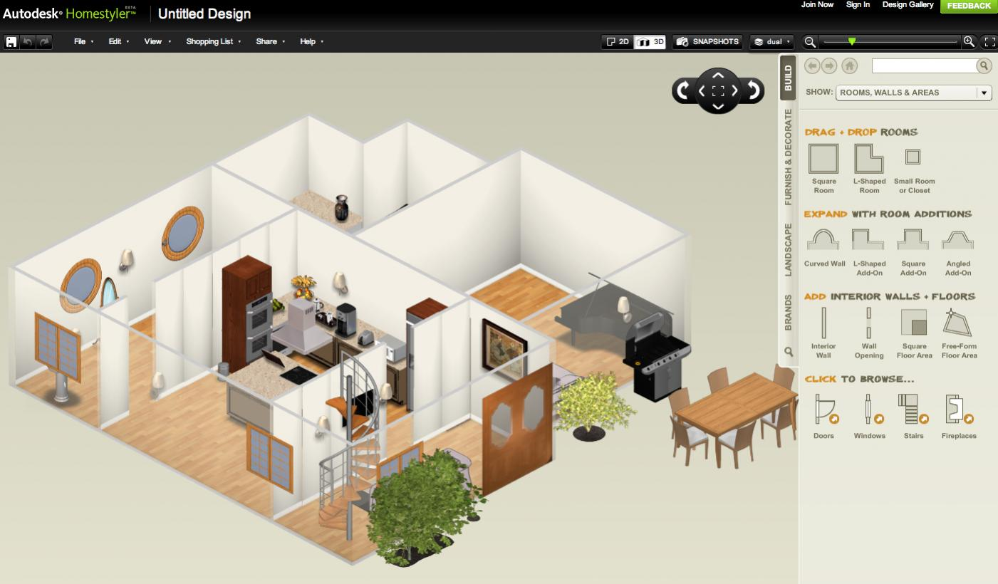 Descargar Gratis Autodesk Homestyler: Create House Floor Plans Online With  Free Floor Plan Software | Banana Soft.com