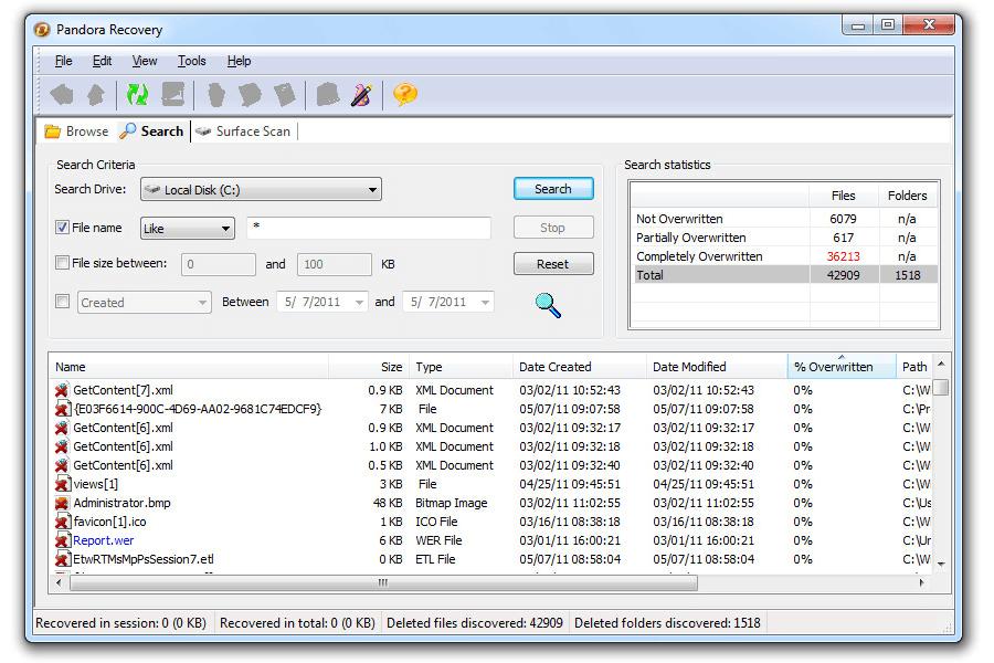 5 file recovery free programs | Banana-Soft com