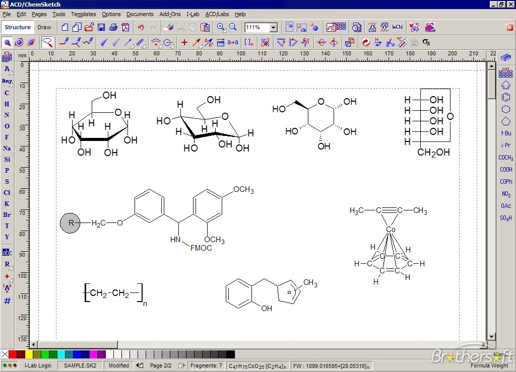 download free acdchemsketch a free comprehensive