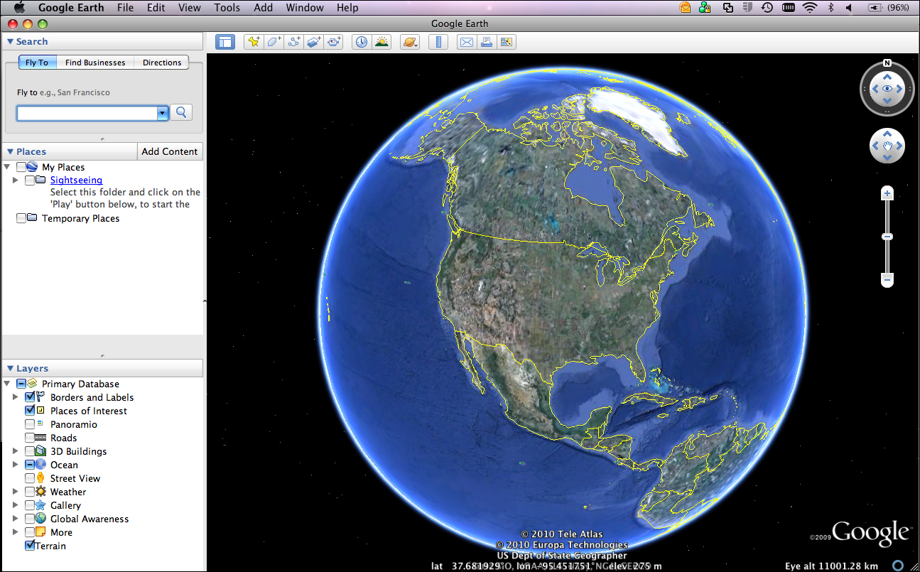Google Earth banana-soft.com