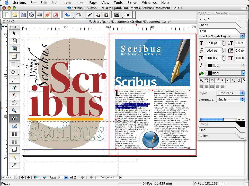 Descargar Gratis Scribus Free Program For The Design Of