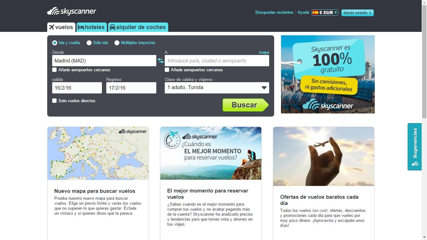 Descargar gratis Skyscanner: Vuelos, hoteles y alquiler de ... - photo#38