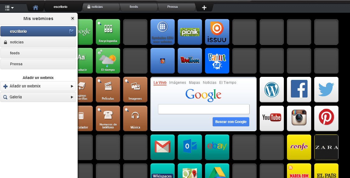 Symbaloo banana-soft.com