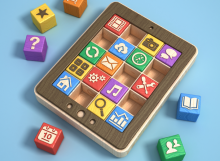 The 4 educational tools most used to create applications, games and 3D environments